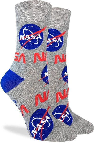 Good Luck Socks Womens Nasa