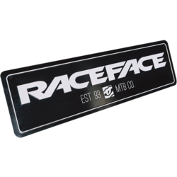 Race Face Tin Sign