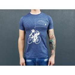 CyclePath Tee Shirt Taco Navy Blue