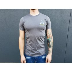 CyclePath Tee Shirt CP Wars Charcoal