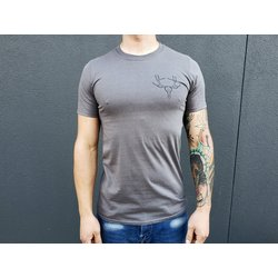 CyclePath Tee Shirt Antler Charcoal
