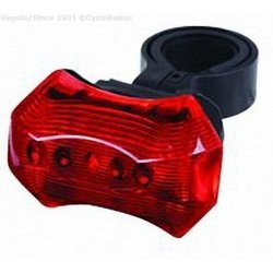Cycle Babac Rear Battery 3 Led Rear Light