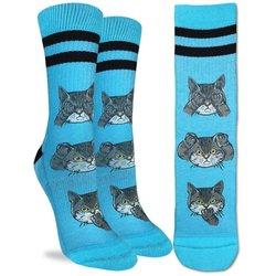 Good Luck Socks Womens Sport No Evil Cats