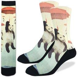 Good Luck Socks Mens Sport Panda Storm