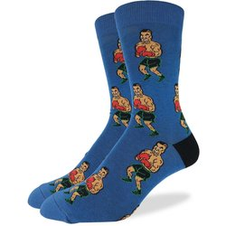 Good Luck Socks Mens Punch Out