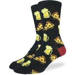 Good Luck Socks Mens Pizza N Beer