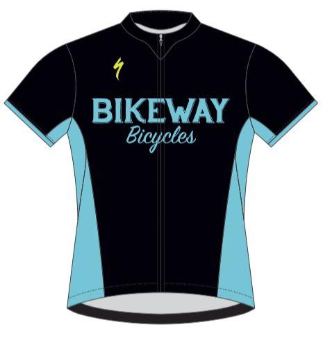 Bikeway Bicycles Custom RBX Womens Jersey