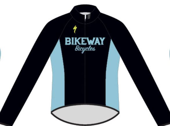 Bikeway Bicycles Custom Deflect Jacket