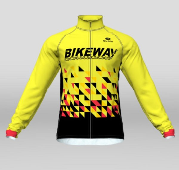 Bikeway Bicycles Team Clothing 2018 Mens Evolution Long Sleeve Jersey