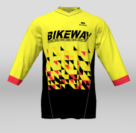 Bikeway Bicycles Team Clothing 2018 Freestyle Jersey