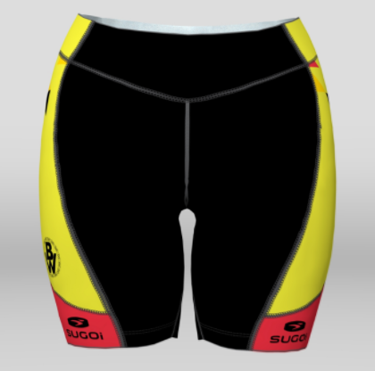 Bikeway Bicycles Team Clothing 2018 Womens RS Tri Short