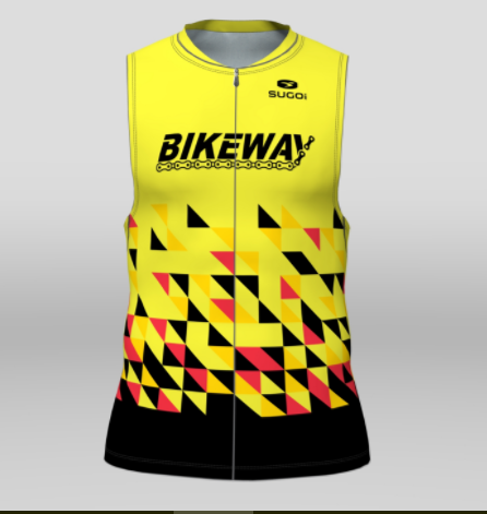 Bikeway Bicycles Team Clothing 2018 Mens RS Tri Top