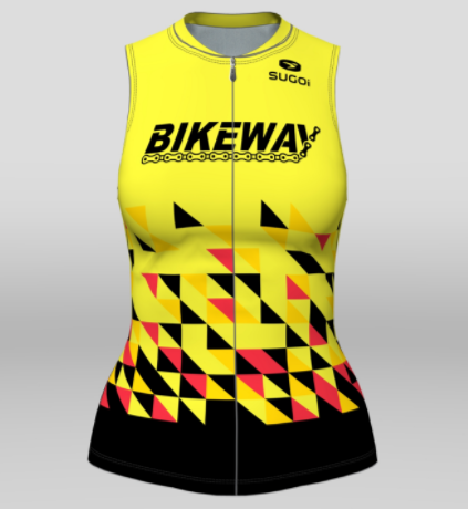 Bikeway Bicycles Team Clothing 2018 Womens RS Tri Top