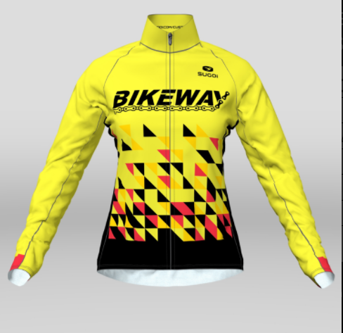 Bikeway Bicycles Team Clothing 2018 Womens Evolution Long Sleeve Jersey