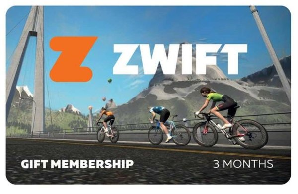Zwift Zwift 3 Month Membership Card