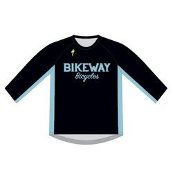 Bikeway Bicycles Custom Enduro 3/4 Mtn Jersey