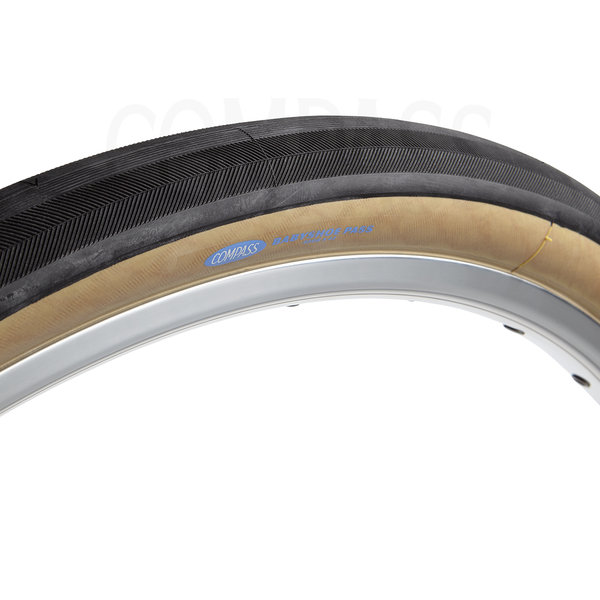 Compass Tire Babyshoe Pass 650bx42 Tan Standard