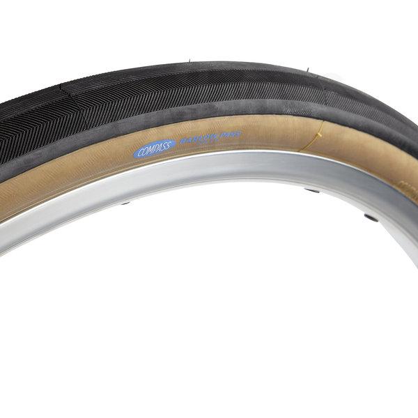 Compass Tire Barlow Pass 700x38 Black/Tan Standard