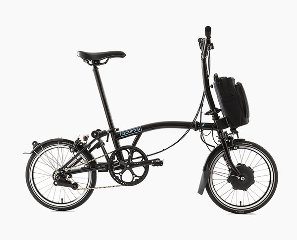 Brompton Electric H-Bar 6spd w/ Fenders
