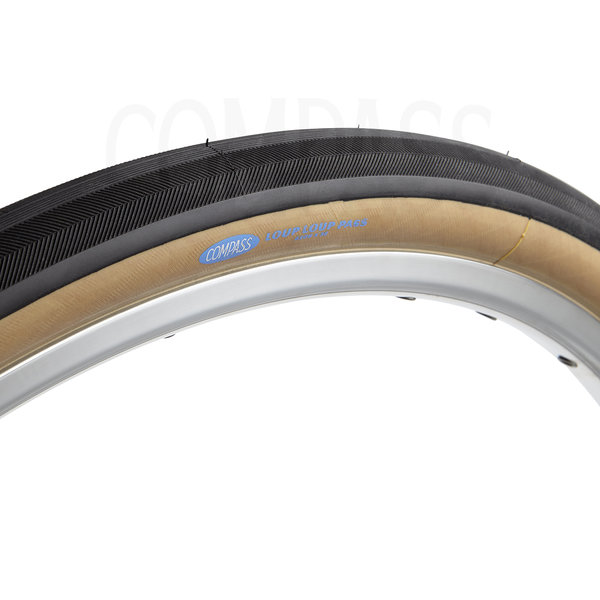Compass Tire Loup Loup Pass 650bx38 Black/Tan Standard