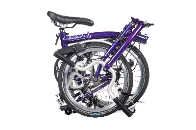 Brompton H-Bar 6spd w/ Rack & Fender