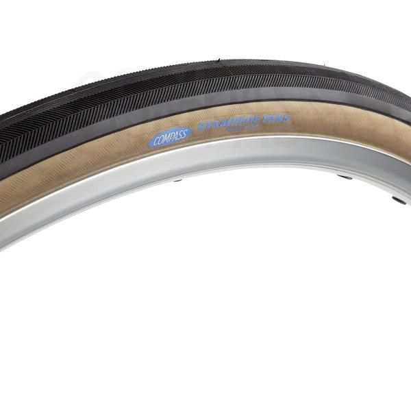 Compass Tire Stampede Pass 700x32 Black/Tan Standard