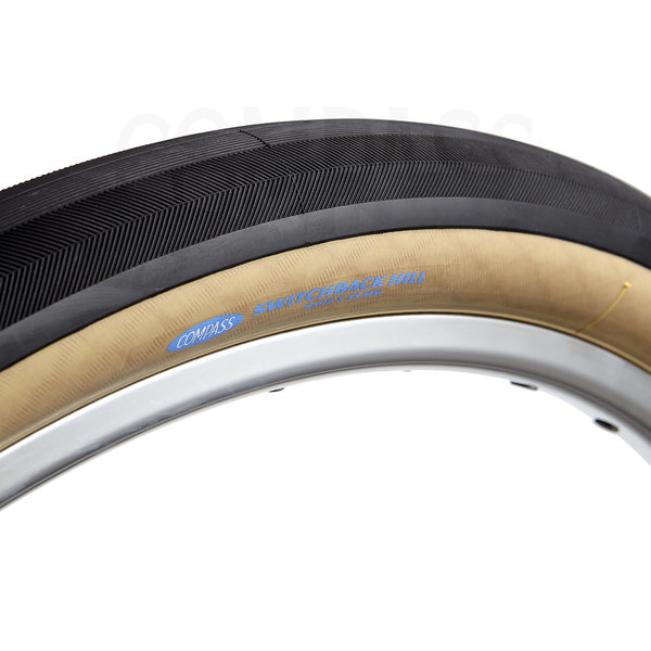 Compass Tire Switchback Hill 650bx48 Black/Tan Standard
