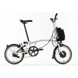 Brompton Electric M-Bar 6spd w/ Fenders