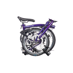 Brompton H-Bar 6spd w/ Rack, Fender & Dynamo