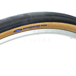 Compass Tire Snoqualmie Pass 700x44 Black/Tan Standard