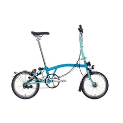 Brompton M-Bar 6spd w/ Fenders