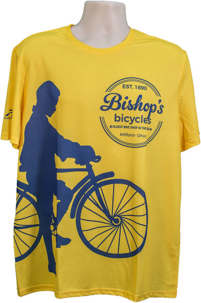 Bishop's Bicycles Bishop's Performance T-shirt Crew Neck