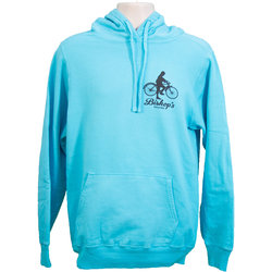 Bishop's Bicycles Bishop's Bicycles Pullover Hooded Sweatshirt Frost Blue