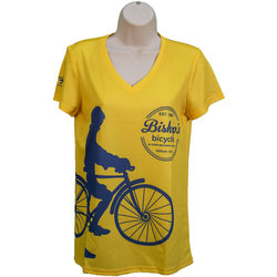 Bishop's Bicycles Bishop's Performance T-shirt V Neck