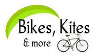 Bikes Kites and More Logo