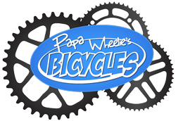 Papa Wheelie's Bicycles Logo