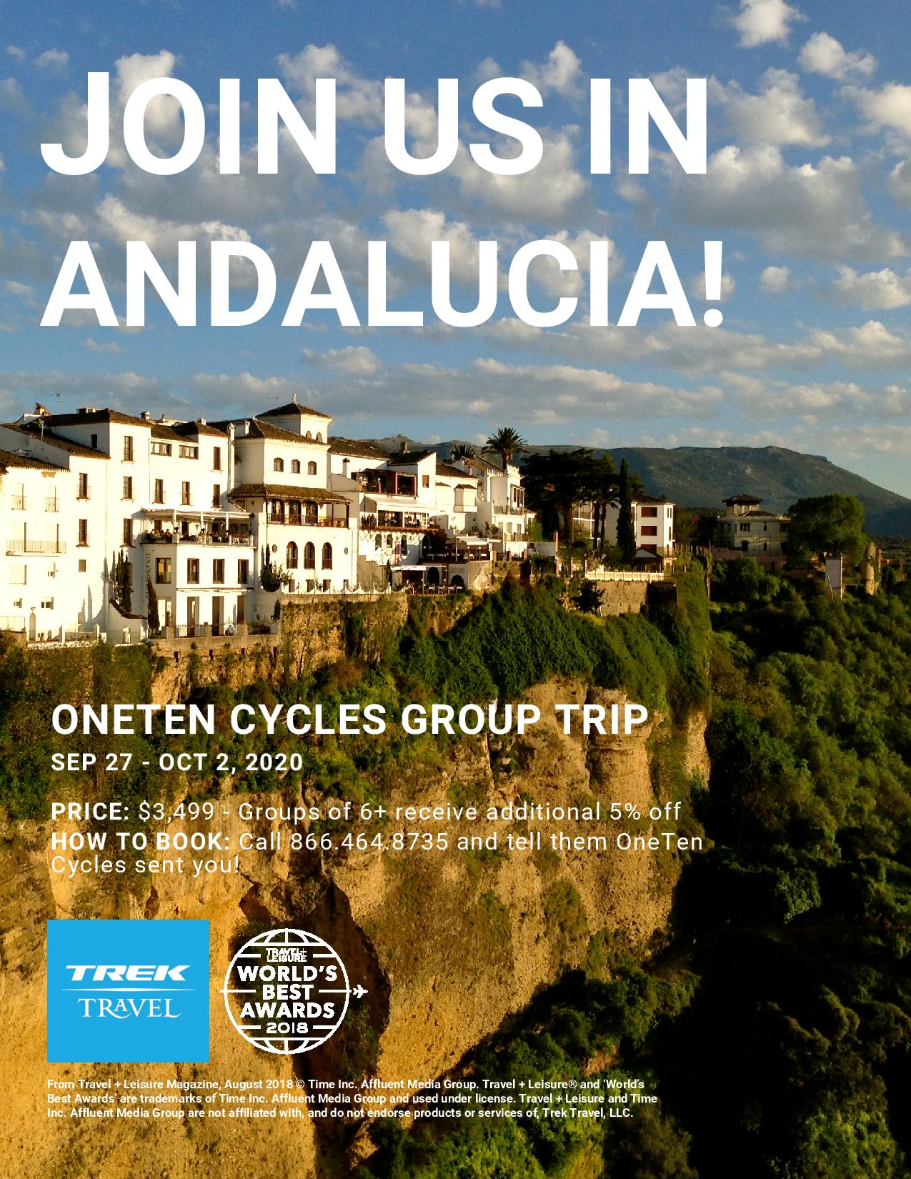 Trek Travel to Andalucia