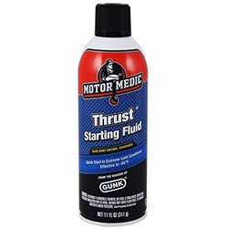 Motor Medic Thrust Starting Fluid