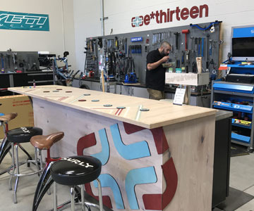 Art's Cyclery Service Area