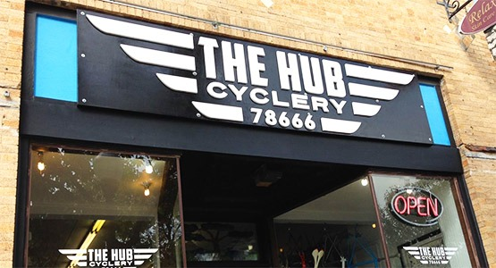 The Hub Cyclery, since 2008!