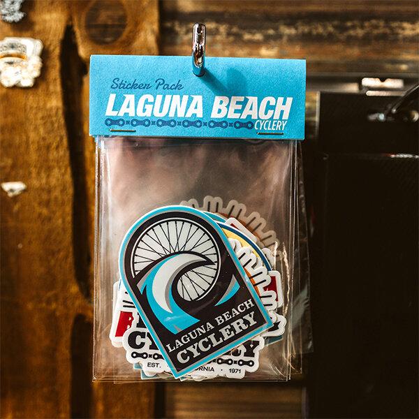 Laguna Beach Cyclery Sticker Pack