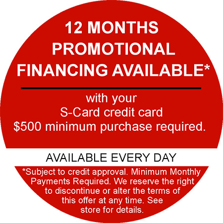 Promotional financing