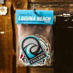 Laguna Beach Cyclery Sticker Pack