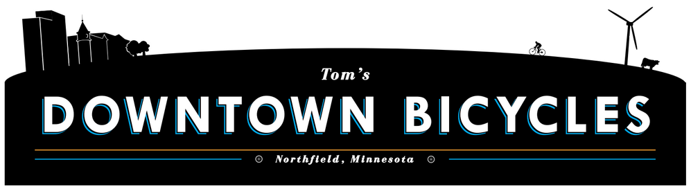 Downtown Bicycles Logo