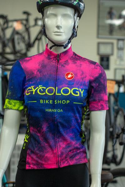 Castelli Cycology Bike Shop Jersey Womens