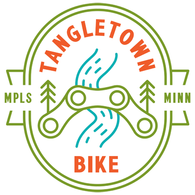 Tangletown Bike Shop Logo