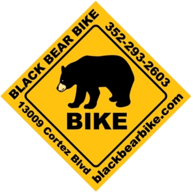 Black Bear Bike Logo