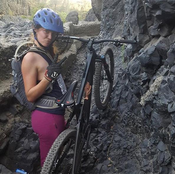 Alyssa rides a Remedy