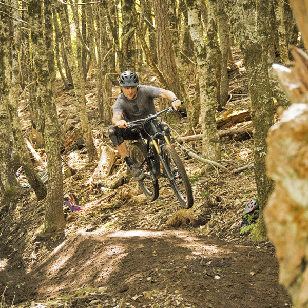 Brett Watts in Lacks Creek