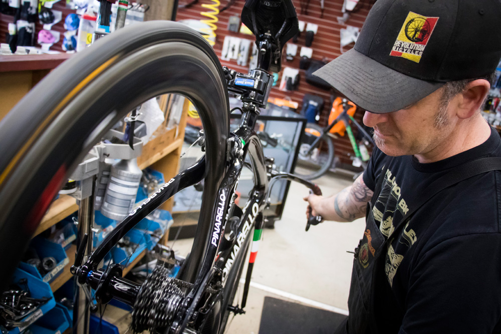 We can service your bike